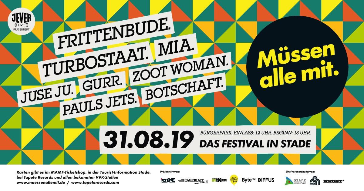 MAMF2019 Plakat alleActs quer 1200x630 - DIE BESTEN FESTIVALS IM AUGUST/SEPTEMBER + VERLOSUNG!!