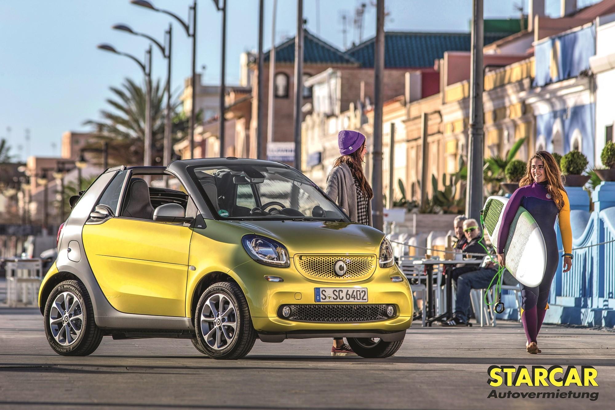 smart fortwo Cabrio - TOLLE VERLOSUNGEN IM AUGUST!!!