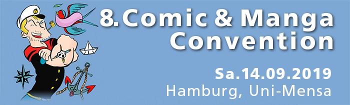 HAMBURG CON Sep2019 - Comic- und Mangaconvention Hamburg