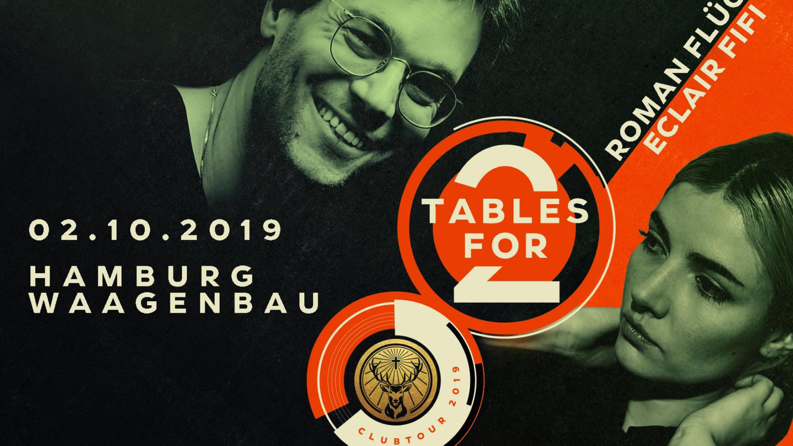 """Feiert mit den Besten! Das brandneue Clubkonzept """"Tables for 2"""" by Jägermeister"""