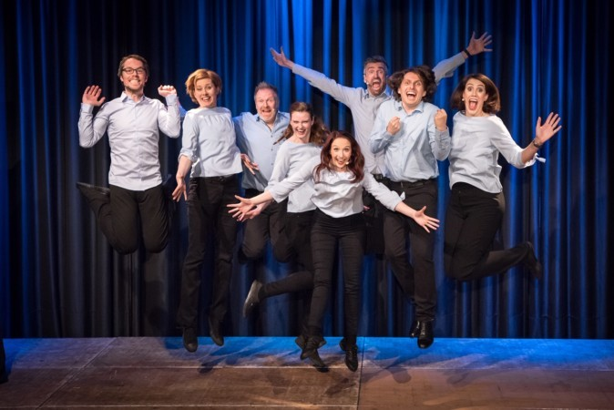 STEIFE BRISE - Improvisationstheater; Impromusical; Hamburg; c G2 Baraniak