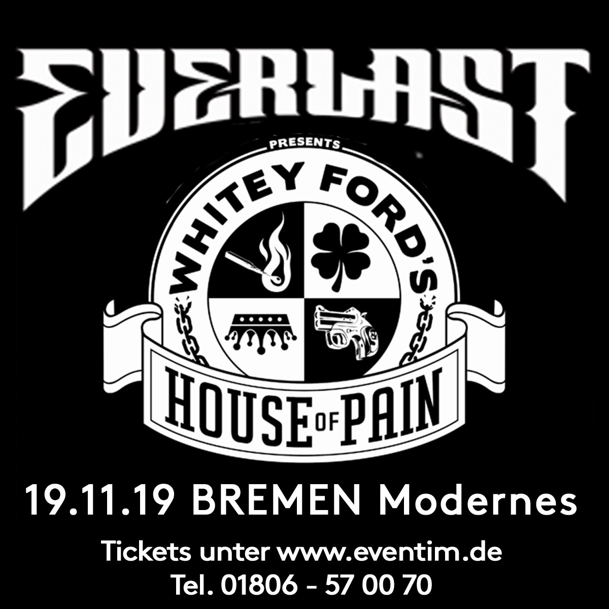 Oxmox Everlast SocialMedia - OXMOX verlost Tickets: Everlast (19.11.)