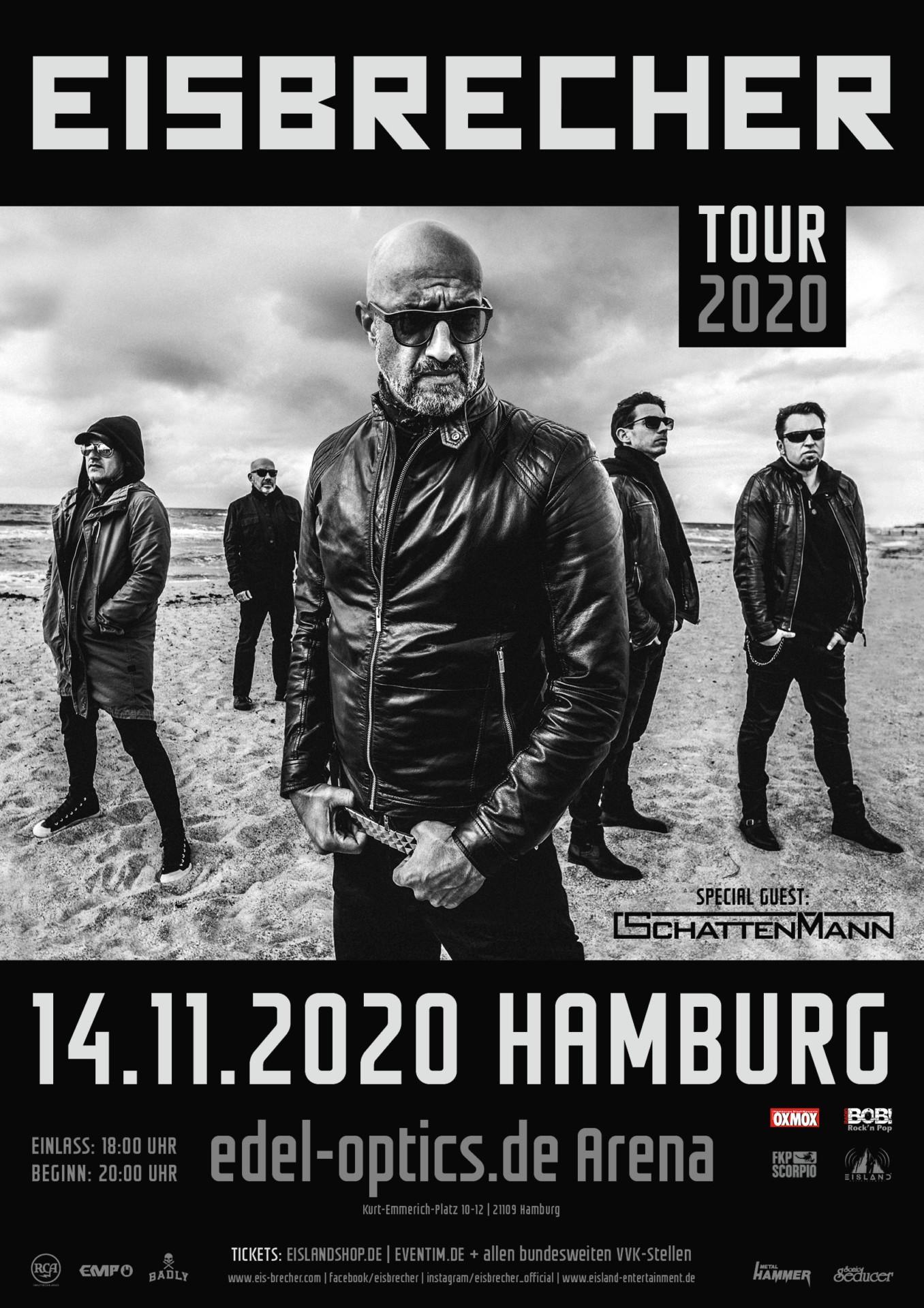 EB Tour2020 Plakat Hamburg neu - OXMOX PRÄSENTIERT DIE TOP TIPPS