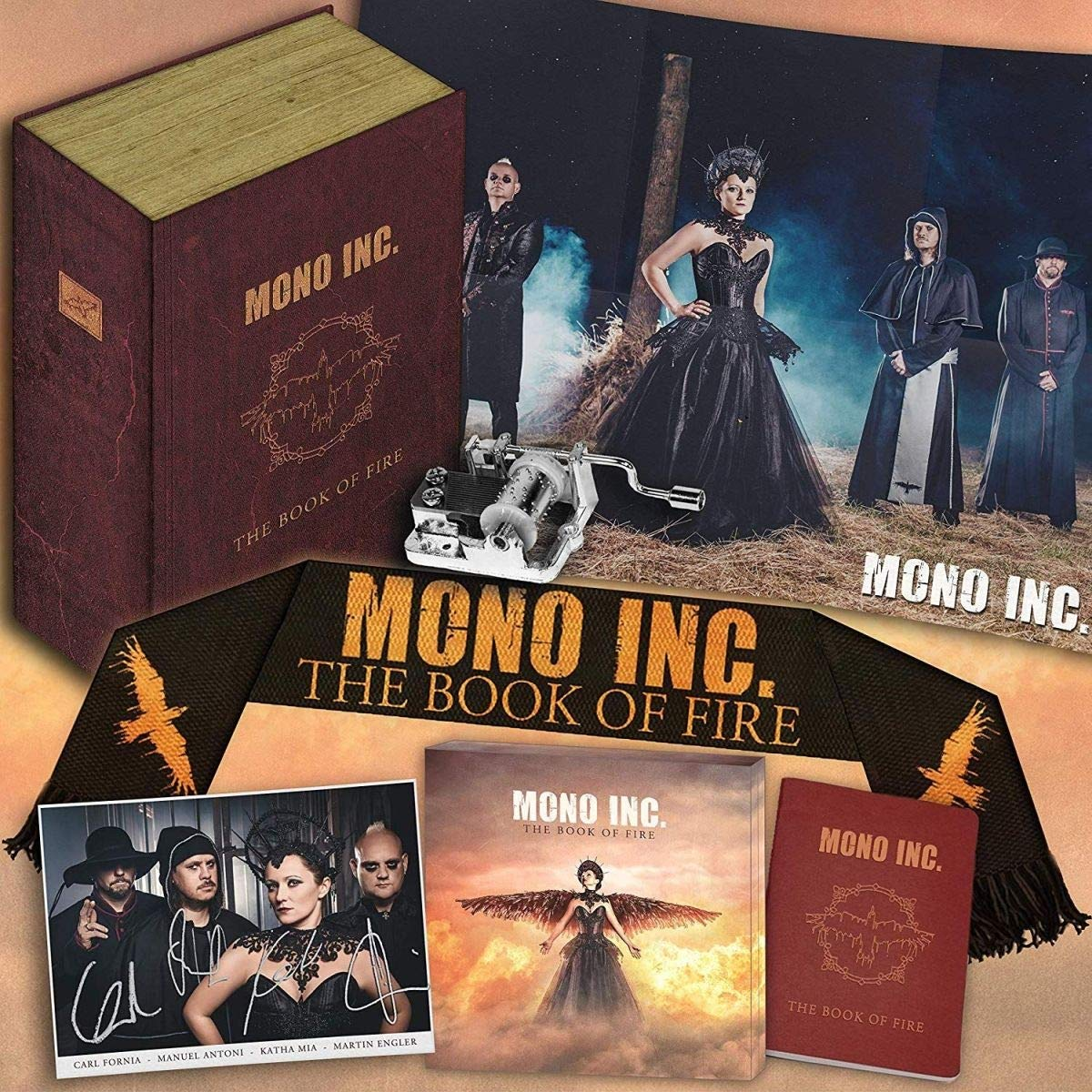 Mono Inc - Mono Inc. - The Book of Fire