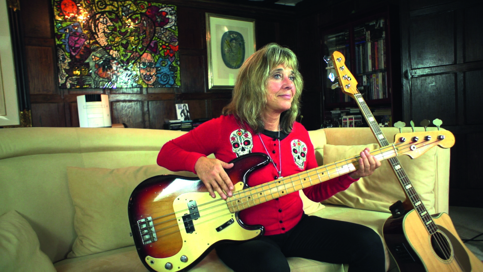 Suzi at home P Bass HR