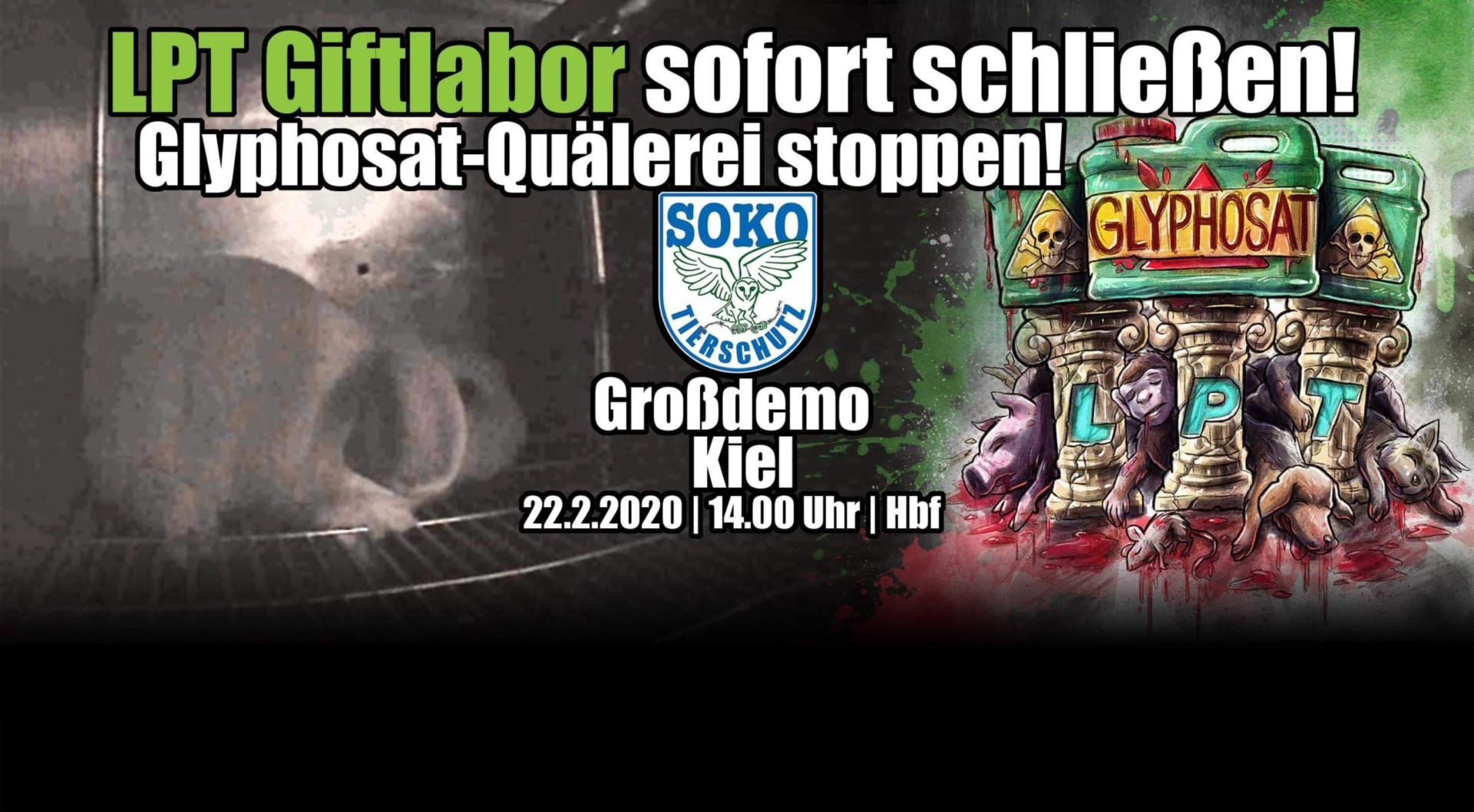 img 3438 scaled - Groß-Demo in Kiel (22.02.) - LPT-Giftlabor sofort schließen