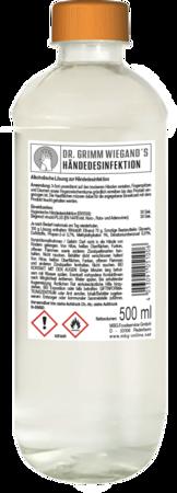 Hand 162x450 - MBG produziert ab sofort Händedesinfektionsmittel und spendet 10.000 Liter an Altersheime und Pflegeeinrichtungen