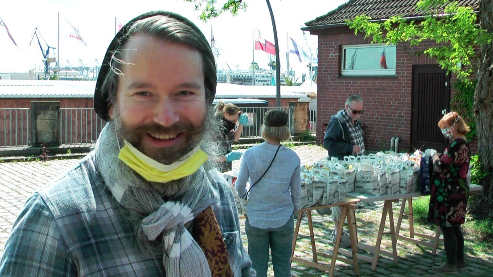 Obdachlose in der Krise: Max Bryans heldenhafter Einsatz