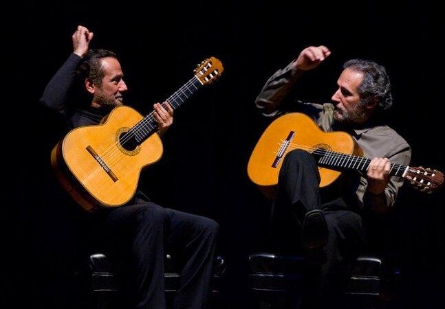 Das Gipfeltreffen der Gitarrenstars