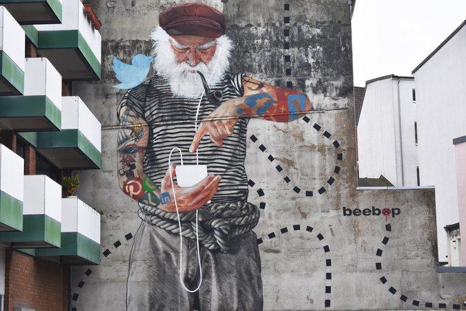 Auf den Spuren der Street-Art Künste