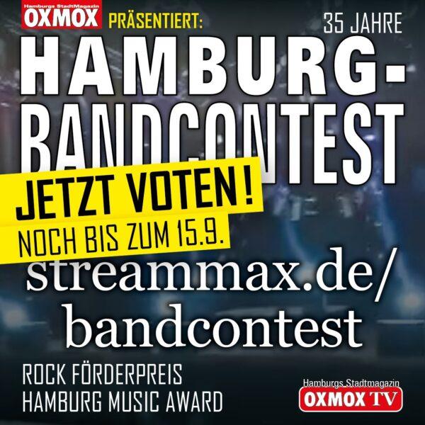 35. HAMBURG-BANDCONTEST - Jetzt voten