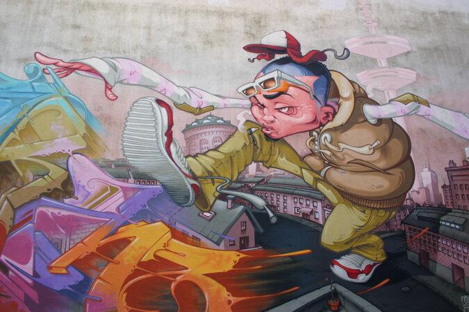IMG 0244 675x450 - Street Art in der Schanze: Ein Stadtteil voller Kunst