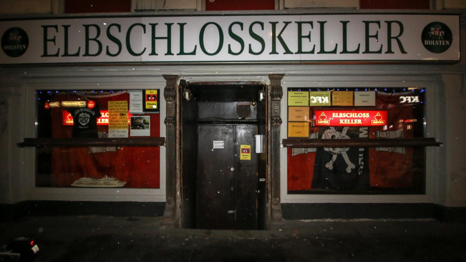 Der Hamburger Berg im Winter / Lockdown 2