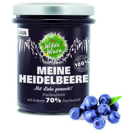 meine wilde wiese Heidelbeer Fruchtaufstrich made in germany vegan  450x450 - Save The Earth! Neue Verlosungen