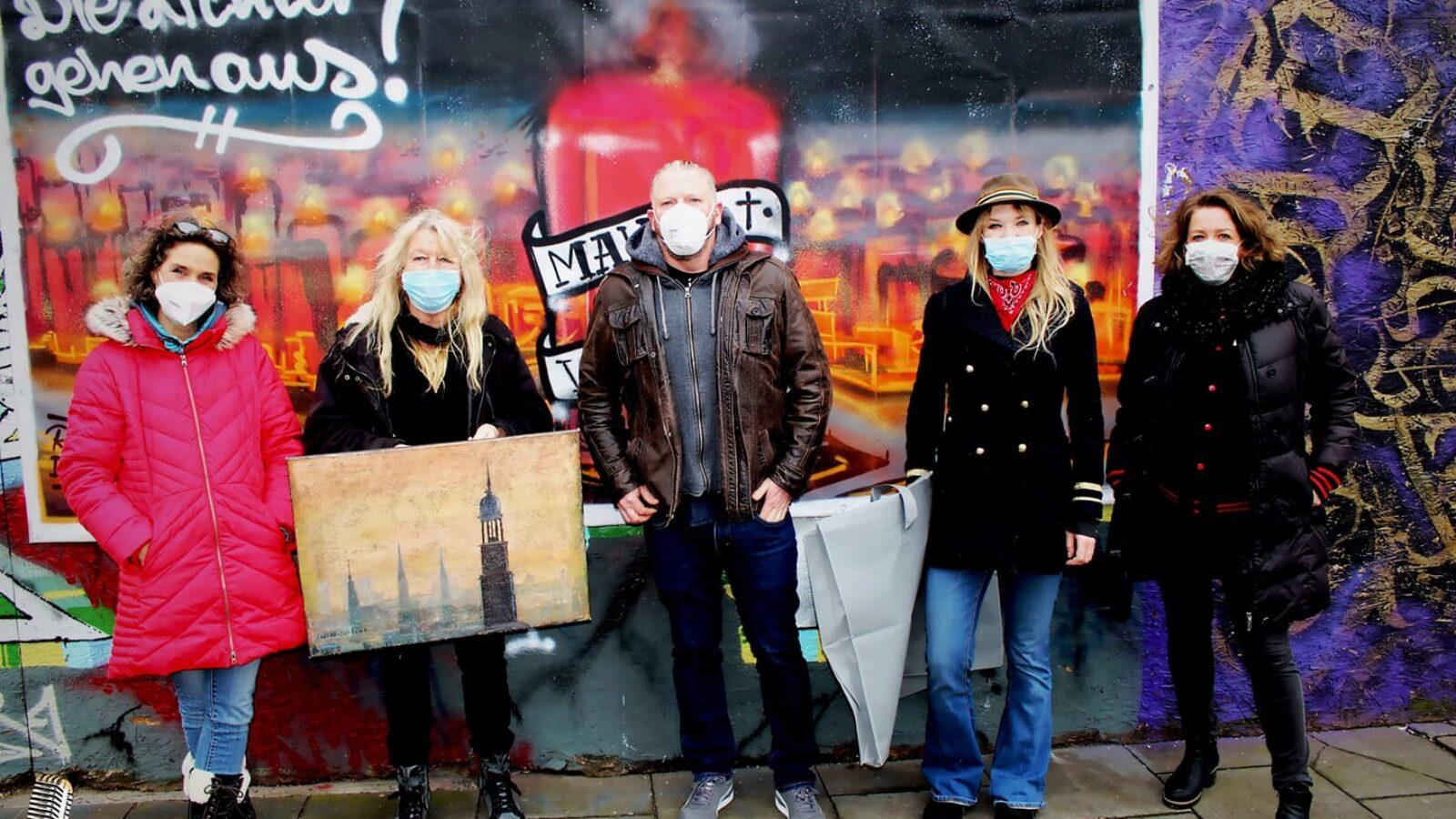 OXMOX präsentiert: Kunst-Versteigerung der ELBMALERIN