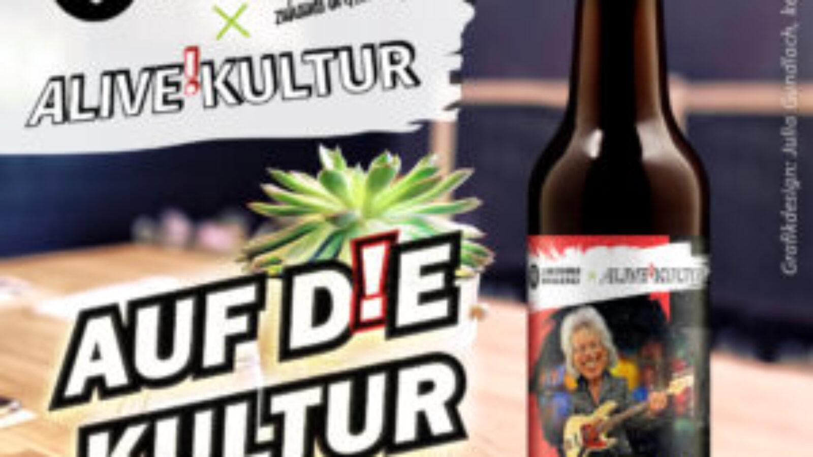 Prost auf die Kultur: RETTERBIER von ALIVE!KULTUR