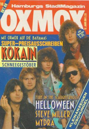 Helloween 311x450 - Leserbriefe & Neues vom OXMOX-Team