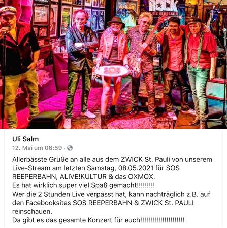 Zwick Stream 447x450 - Leserbriefe: OXMOX-Pärchen & Poeten
