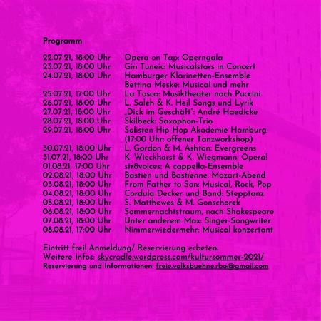 Flyer Kultursommer RBO 2 1 450x450 - Festival auf dem Rothenburgsorter Marktplatz